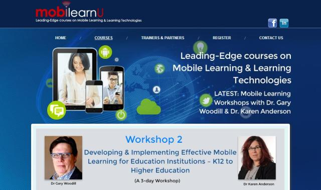 mobile learning wshop